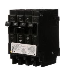siemens triplex 2 outer 20 amp single pole and 1 inner 30 amp double pole circuit breaker q22030ct the home depot [ 1000 x 1000 Pixel ]