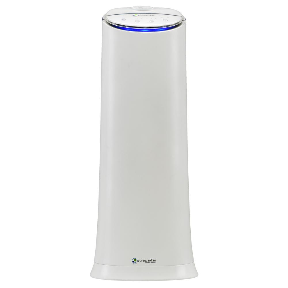 hight resolution of pureguardian h3200wca 100 hour ultrasonic 1 5 gal cool mist tower humidifier