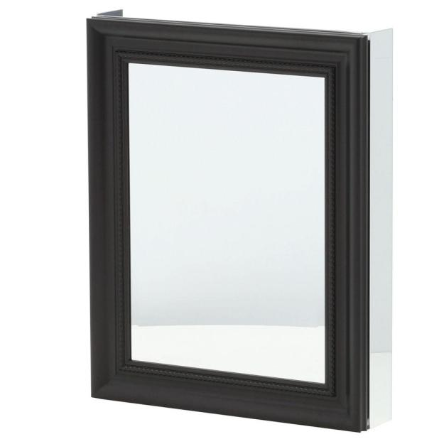 pegasus 24 in. x 30 in. framed recessed or surface-mount bathroom