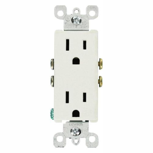 small resolution of leviton decora 15 amp residential grade grounding duplex outlet leviton dryer outlet wiring diagram leviton outlet wiring