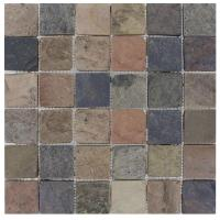 MS International Mixed Color 12 in. x 12 in. x 10 mm ...