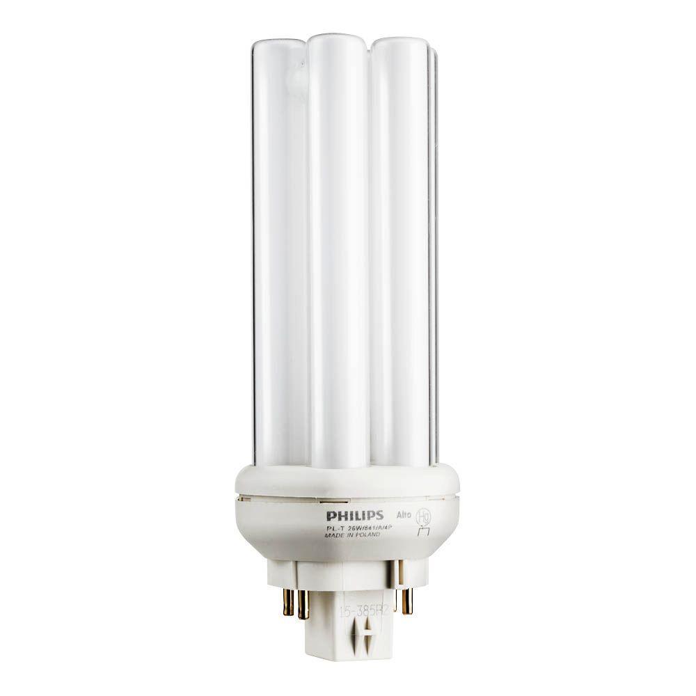 hight resolution of 26 watt gx24q 3 pl t cfl quad amalgam tube 4 pin