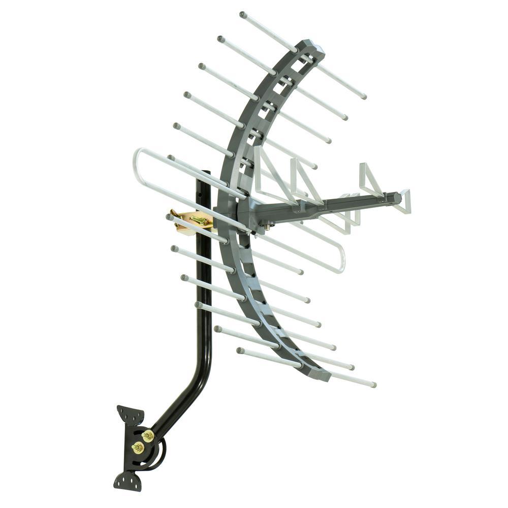 GE Pro Outdoor/Attic Mount TV Antenna, 70-Mile Range-29884