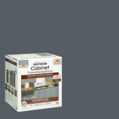 Rustoleum Kitchen Cabinet Kit Reviews Faucet Rust-oleum Transformations 1 Qt. Gray Small ...