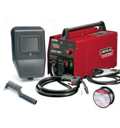 88 amp weld pack hd flux core wire feed welder for welding up to 1 8 in mild steel 115 volt [ 1000 x 1000 Pixel ]