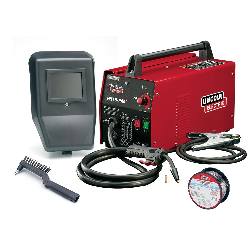 medium resolution of 88 amp weld pack hd flux core wire feed welder for welding up to 1 8 in mild steel 115 volt