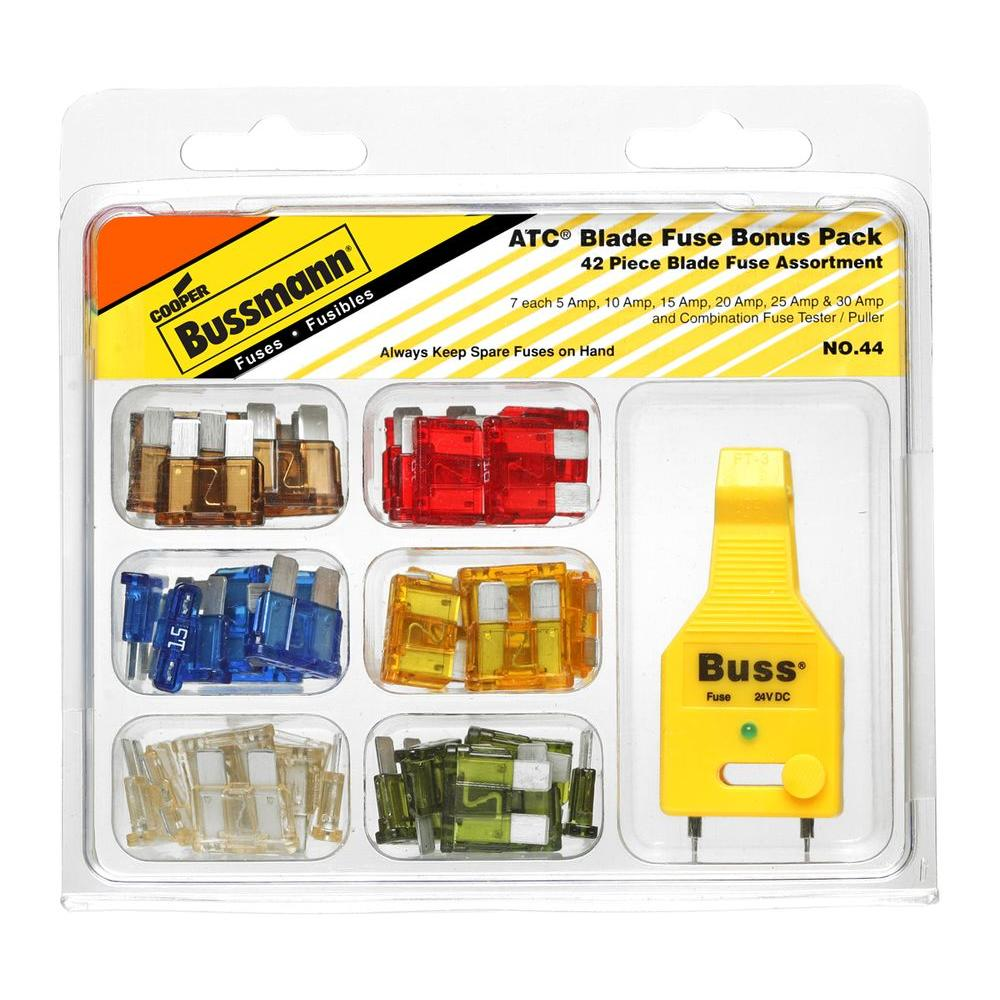 medium resolution of atc 30 amp automotive blade fuse bonus pack