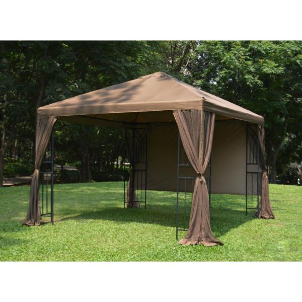 Apex Garden 10 Ft. X Symphony Gazebo With Mosquito