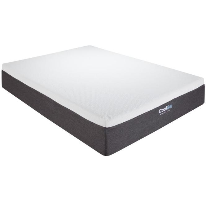 Null Cool Gel Twin Xl Size 12 In Memory Foam Mattress