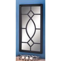 Modern Rectangular Black Wall Mirror-60151 - The Home Depot