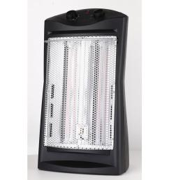 lifesmart 21 in 1500 watt 3 long vertical element large room infrared tower heater with remote zcht1057us the home depot [ 1000 x 1000 Pixel ]