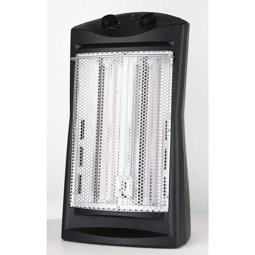 hight resolution of lifesmart 21 in 1500 watt 3 long vertical element large room infrared tower heater with remote zcht1057us the home depot