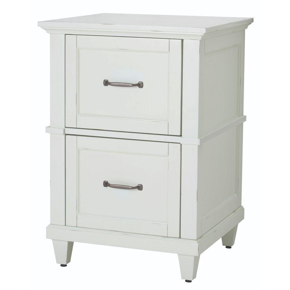 Home Decorators Collection Martin White File Cabinet