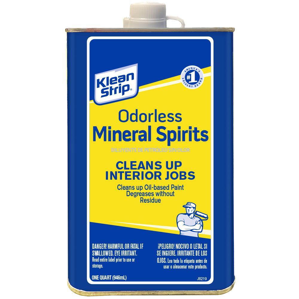 Mineral Spirits Vs Varsol
