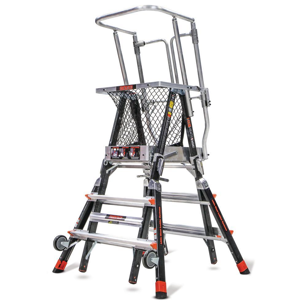 Little Giant Ladder Systems 3 ft.-5 ft. Fiberglass 375 lbs