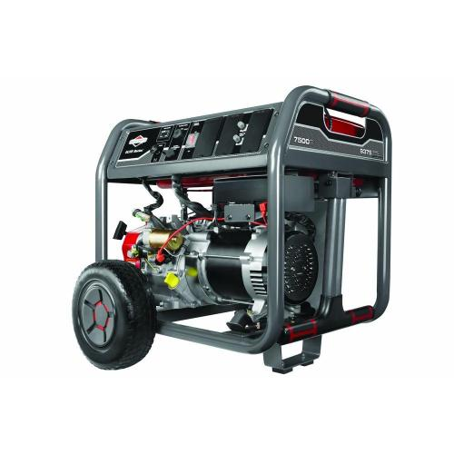 small resolution of 7 500 watt gasoline powered portable generator with briggs engine