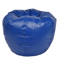 Bing Bag Chairs Chair Design Principles Bean The Home Depot Blue Vinyl