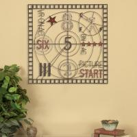 Oil-Rubbed Bronze Old Time Projection Metal Work Wall ...