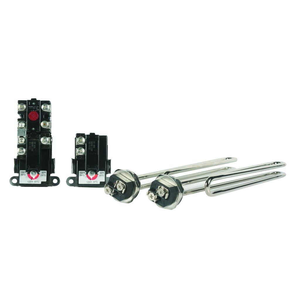 hight resolution of low watt density plumber s pack with therm o disc style t stats
