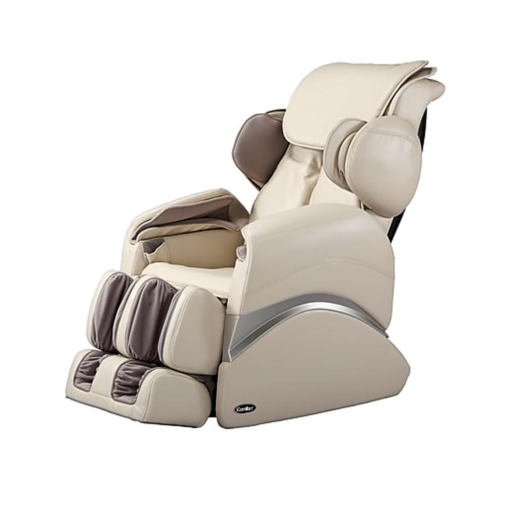 Massage Therapist Chair Icomfort Beige Faux Leather Reclining Massage Chair Ic1126 Beige