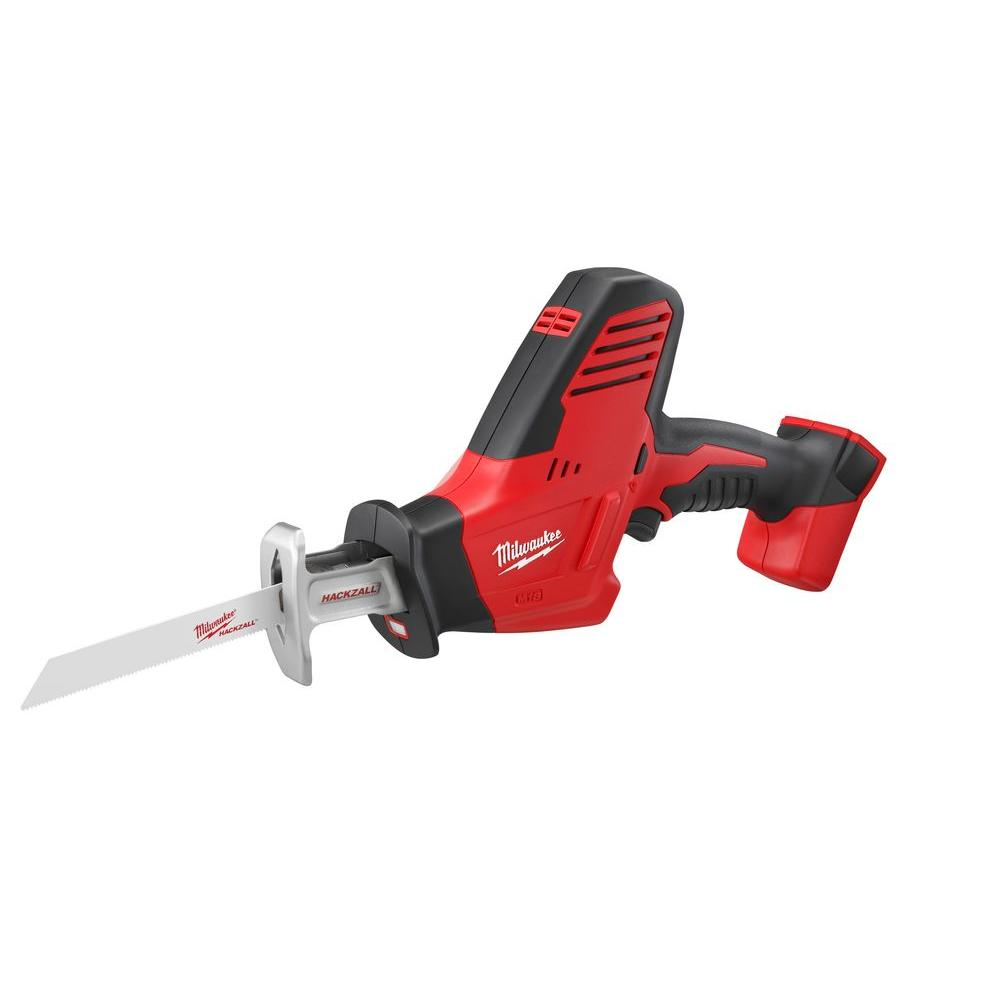 medium resolution of milwaukee m18 18 volt lithium ion cordless hackzall reciprocating saw tool only