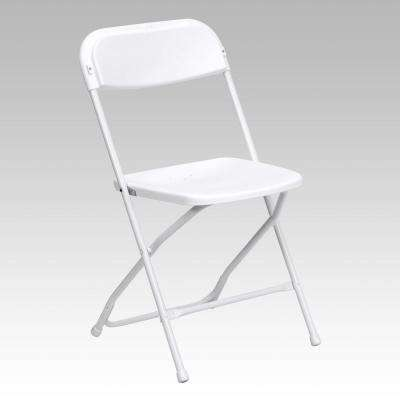 folding chair rental vancouver small lift chairs tables furniture the home depot capacity premium white plastic
