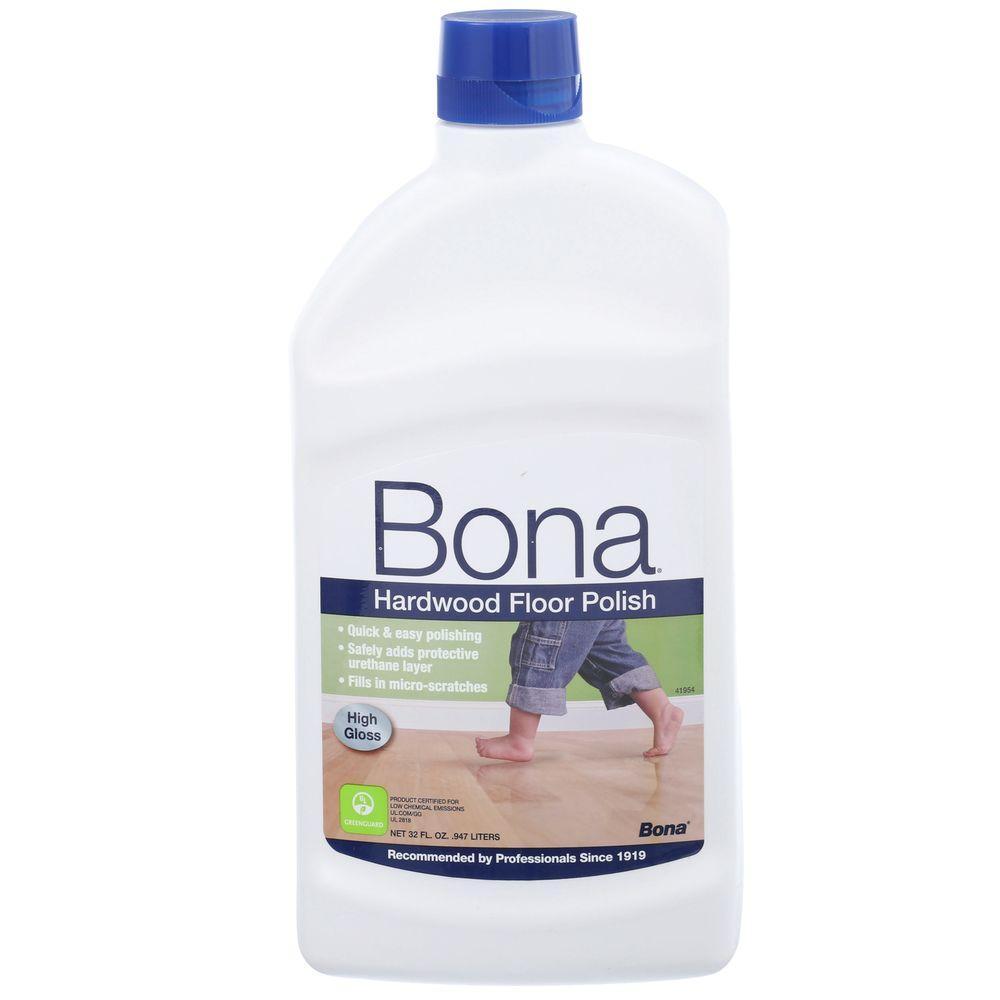 Bona 32 oz HighGloss Hardwood Floor PolishWP510051002