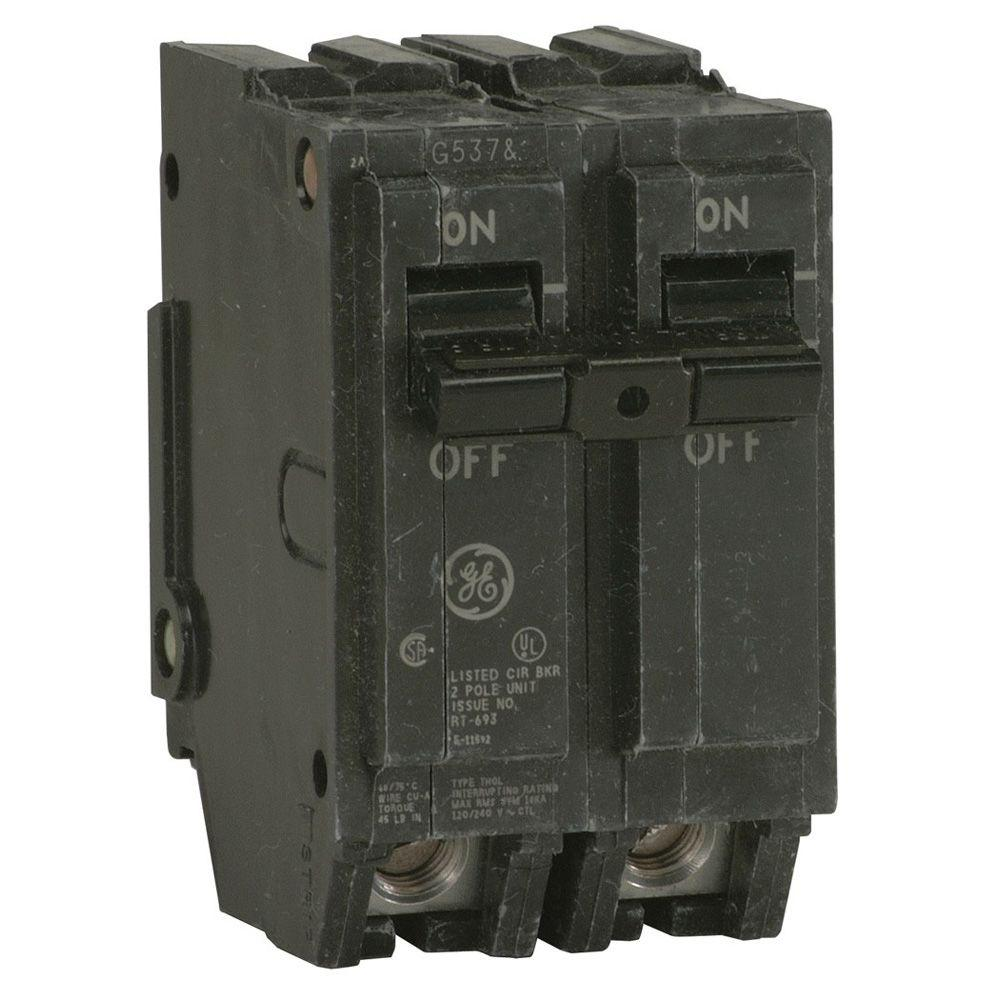 medium resolution of ge q line 40 amp 2 in double pole circuit breaker thql2140 theq line 40 amp