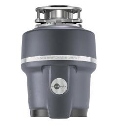 evolution compact 3 4 hp continuous feed garbage disposal [ 1000 x 1000 Pixel ]