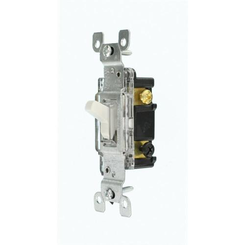small resolution of leviton 15 amp residential grade 3 way lighted toggle switch white