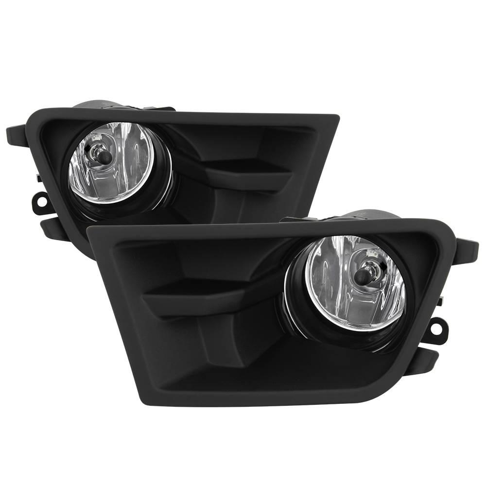 hight resolution of ford mustang v6 2010 2012 3 7l 4 0l fog light with universal switch clear write a review