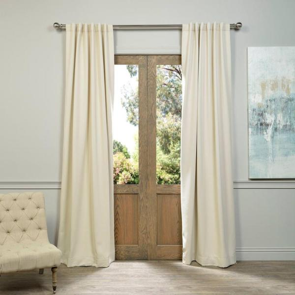 Ivory Blackout Curtains
