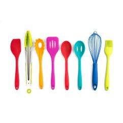 Kitchen Utensil Sets Aid 5 Speed Blender Core Essential Silicone Multi Set Of 8 Hd20976