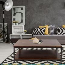 Casual Home Metro Mocha Coffee Table-694-24 - Depot