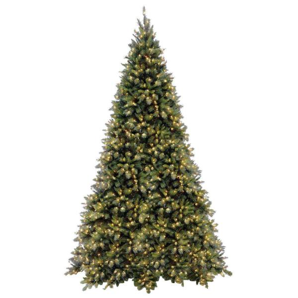 National Tree Company 12 Ft. Tiffany Fir Medium Artificial Christmas With Clear Lights-tfmh