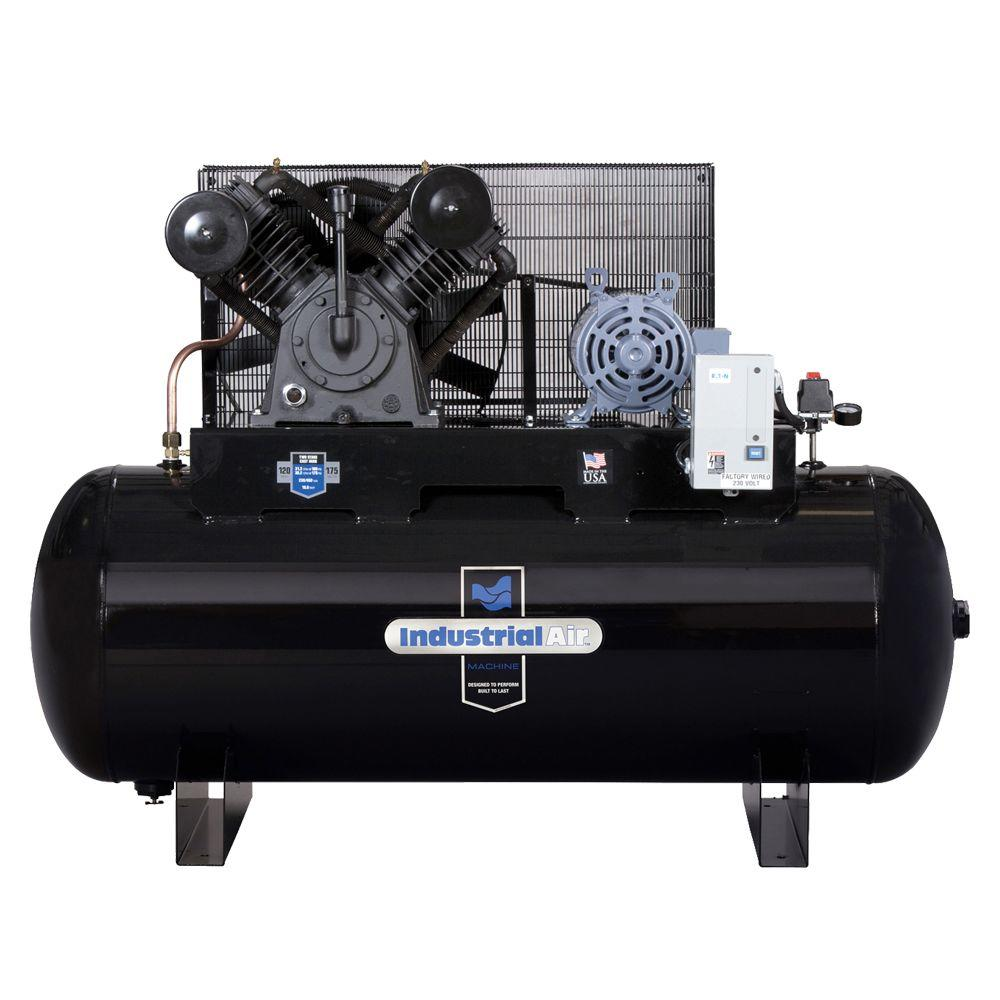 medium resolution of 120 gal stationary electric air compressor