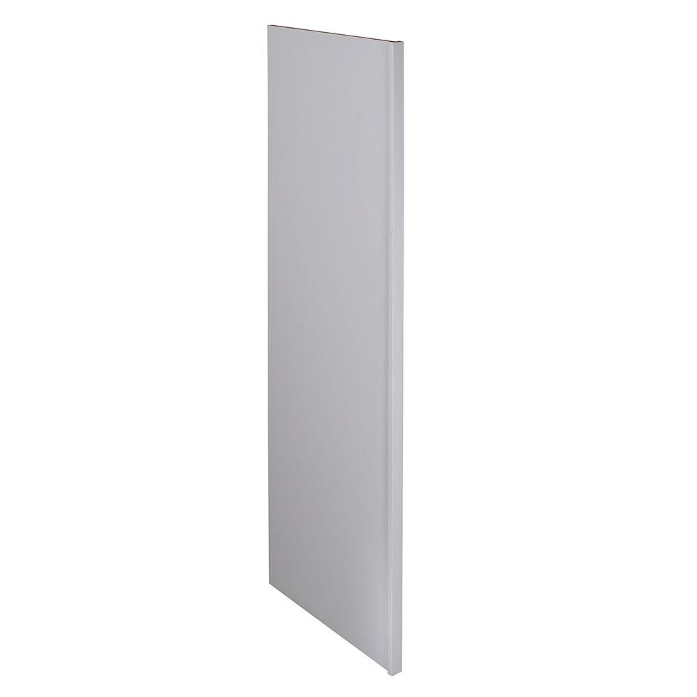 White Kitchen End Panel