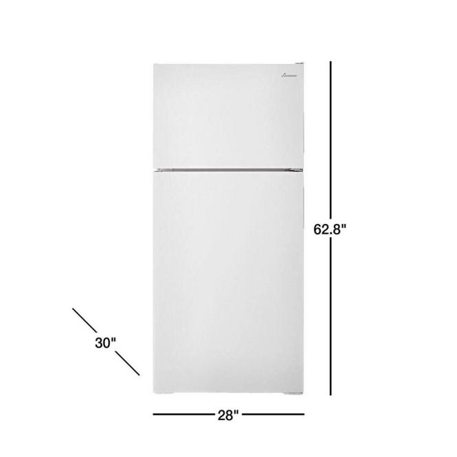 14 3 Cu Ft Top Freezer Refrigerator