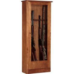 American Classics Kitchen Cabinets Catalogs Furniture 4.78 Cu. Ft. 10 Gun Cabinet ...