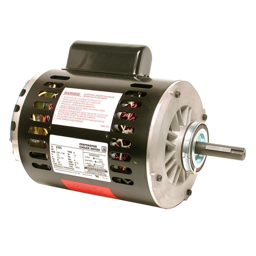 medium resolution of 1 hp evaporative cooler motor