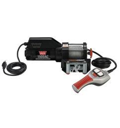 warn 1500 lbs 120 volt ac utility winch [ 1000 x 1000 Pixel ]