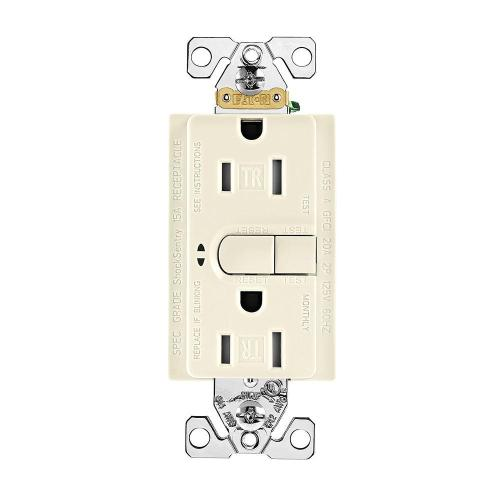 small resolution of aspire gfci self test 15a 125v tamper resistant duplex receptacle desert sand