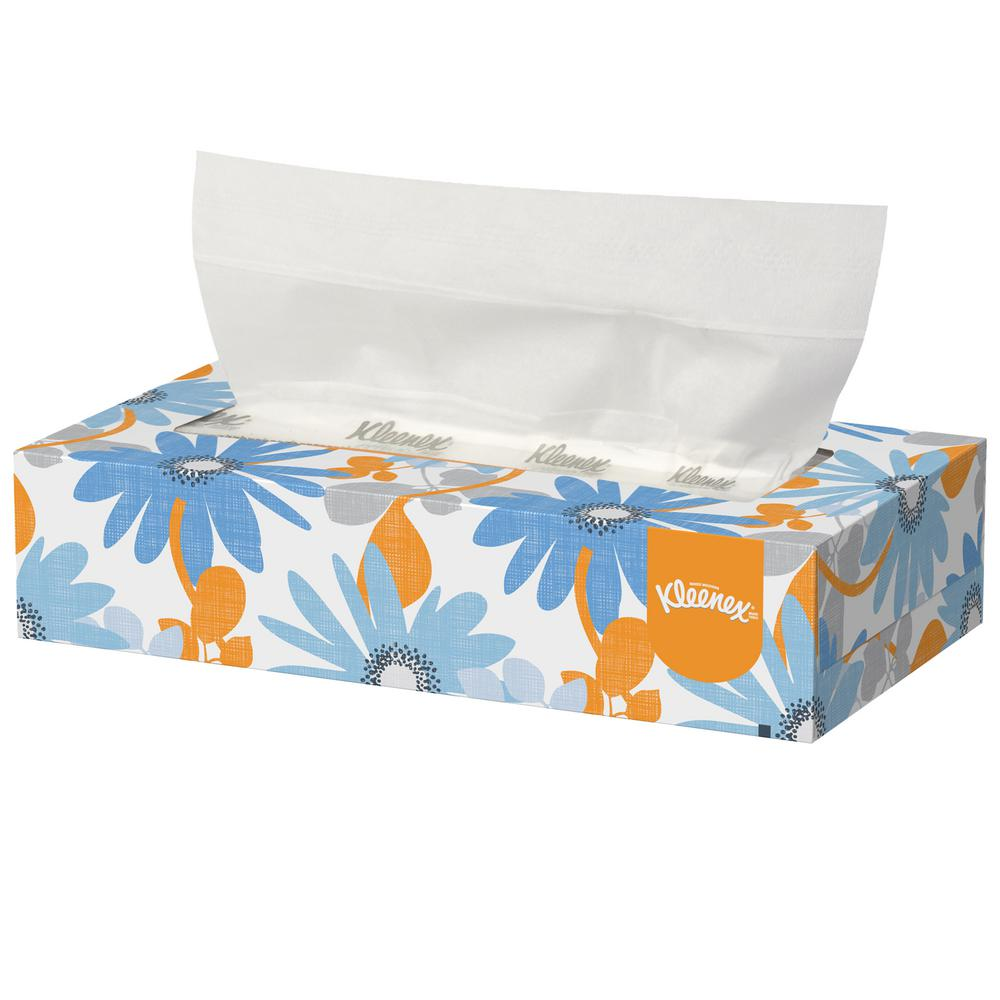 Kleenex Facial Tissue 2 Ply 125 Count KCC03076 The