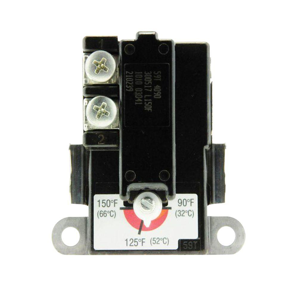 medium resolution of lower thermostat for marathon electric water heaters