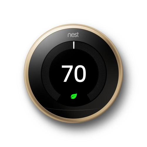 small resolution of nest smart learning wi fi programmable thermostat 3rd gen brass