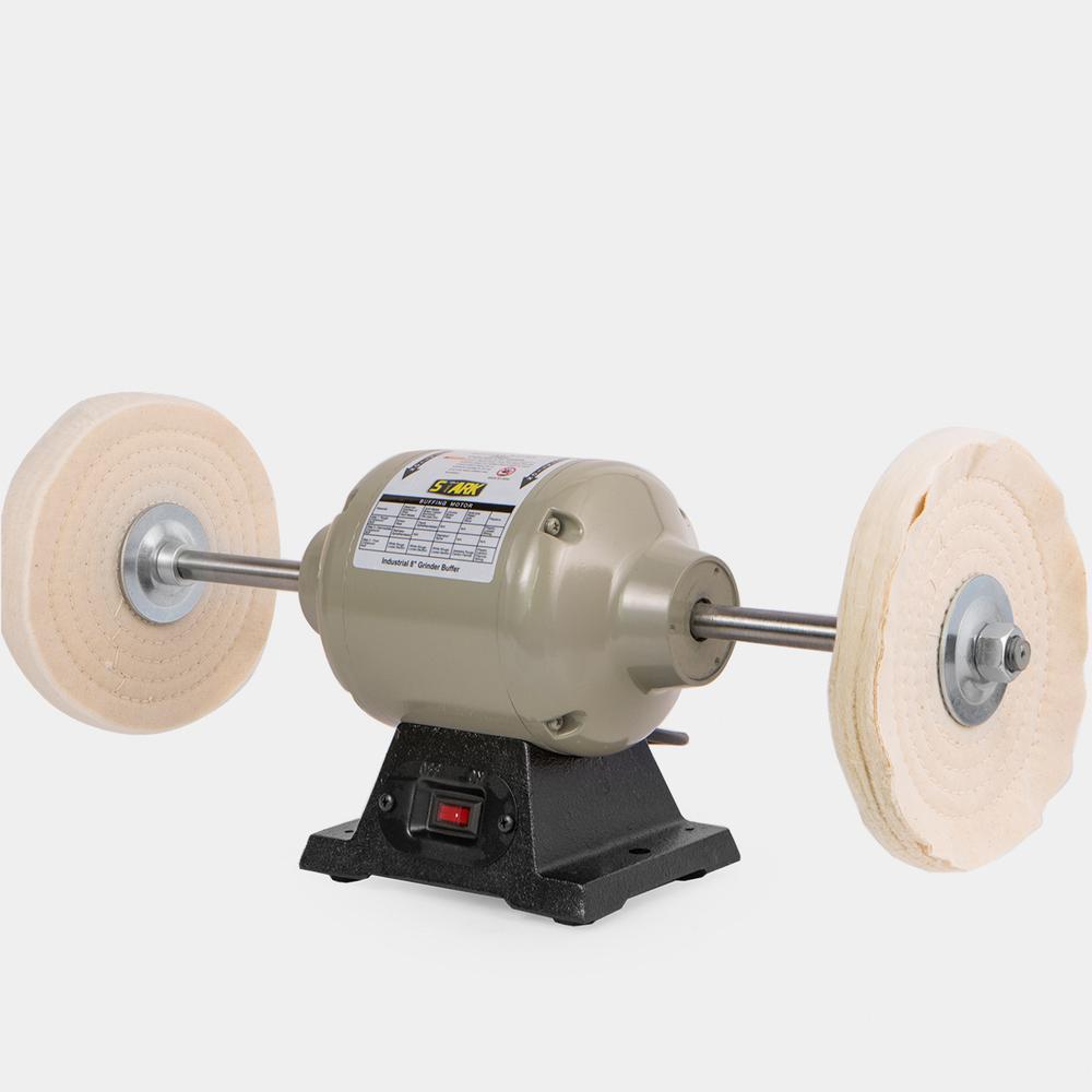 hight resolution of benchtop heavy duty buffer polisher grinder