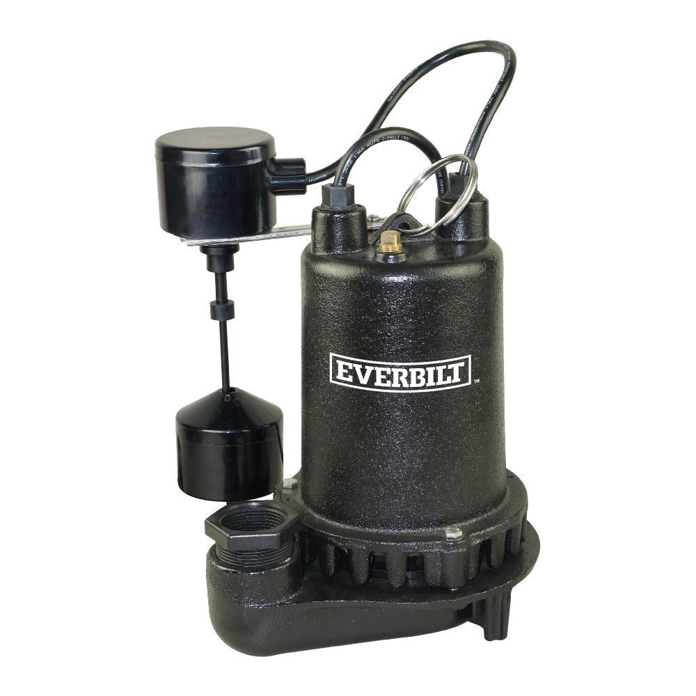 medium resolution of 1 hp professional sump pump