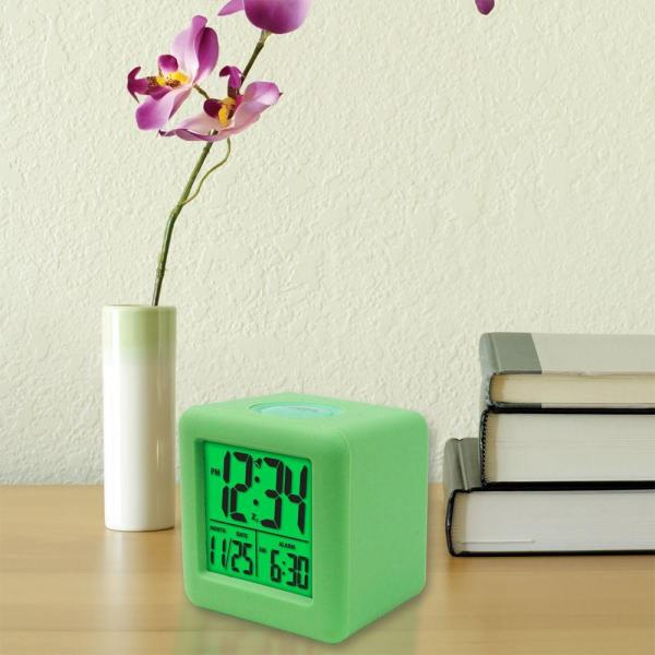 Sonic Alert Boom Digital Alarm Clock - White-sa-sb300ss Home Depot