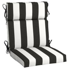 High Back Dining Chair Covers Decorations Home Decorators Collection 21 5 X 20 Sunbrella Cabana Classic Outdoor Cushion