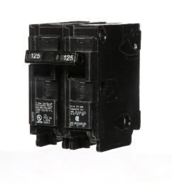 siemens 125 amp double pole type qp circuit breaker [ 1000 x 1000 Pixel ]